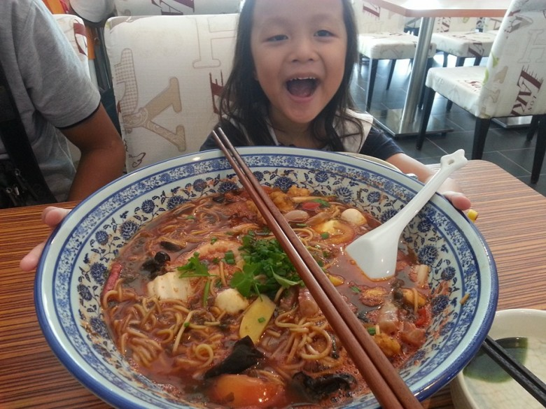 Big Bowl Noodles at Captain M Bistro de Cafe Miri